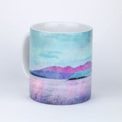Arran over Sound of Bute Gift Boxed Mug
