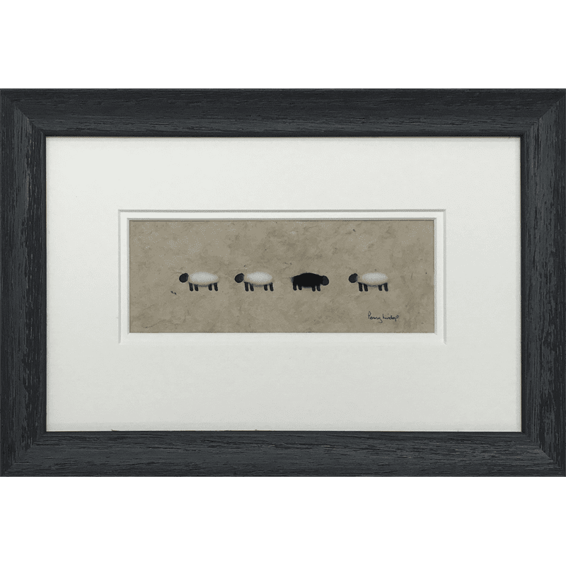 Four Sheep by Penny Lindop