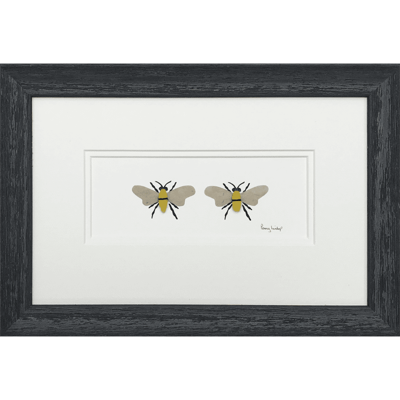 Two Bees by Penny Lindop
