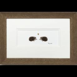Hedgehogs in Love by Penny Lindop