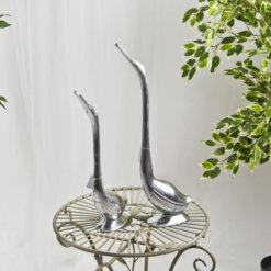 silver swan set