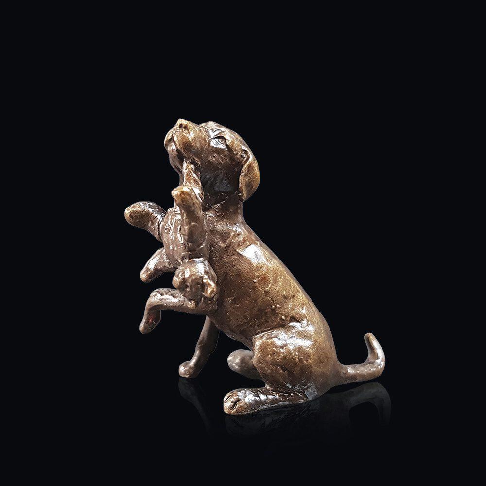 Labrador with Teddy by Butler & Peach