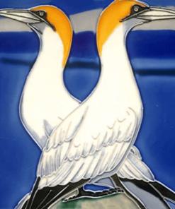 Gannerts Hand Painted Tile