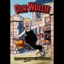 Oor Wullie Schools Oot Hand painted tile