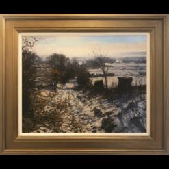 Winter Near Careston Framed