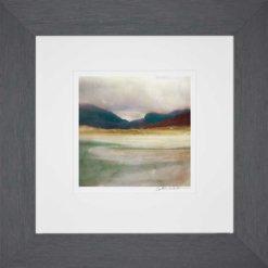 Luskentyre Bay Isle Of Harris_Small print framed