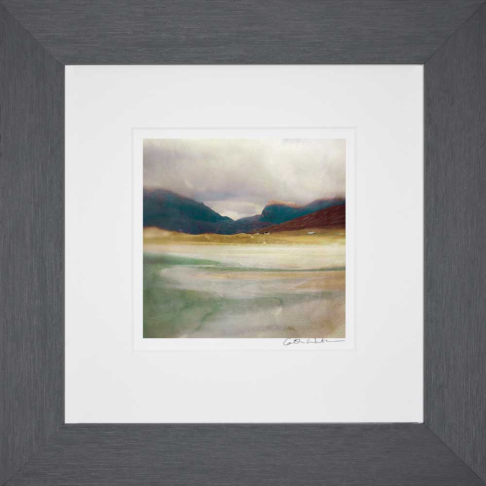 Luskentyre Bay Isle Of Harris_Small print framed