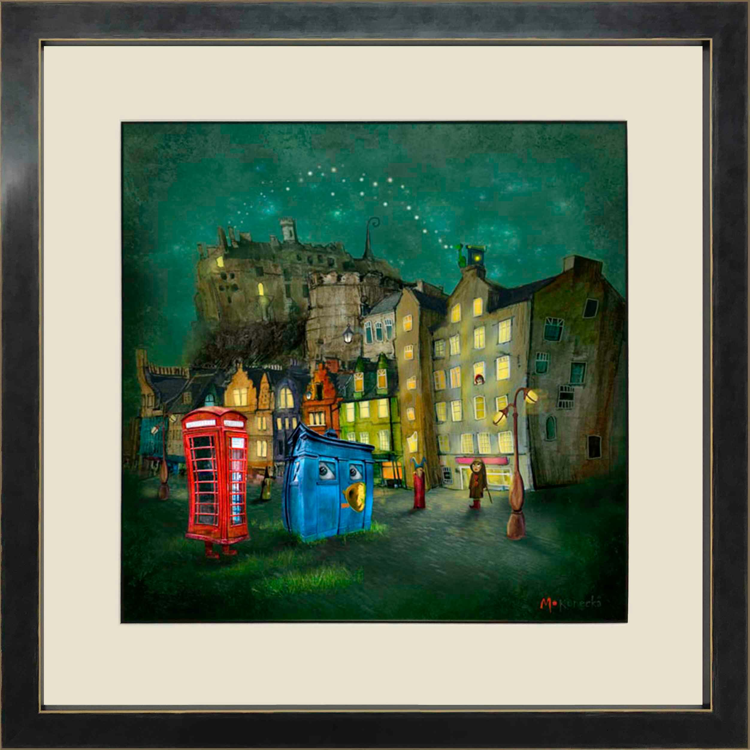 Strange Night (Grassmarket) by Matylda Konecha