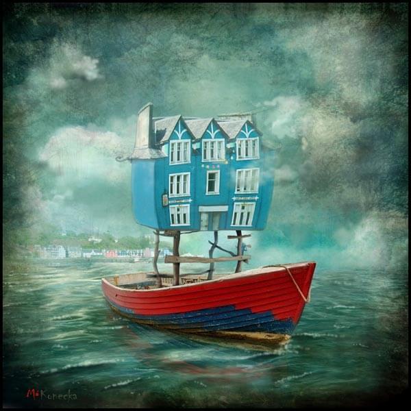 Day Trip (Tobermory) by Matylda Konecha