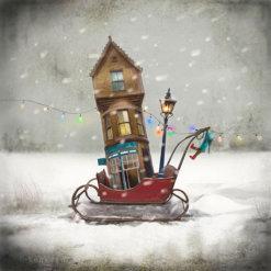 Moving House by Matylda Konecka