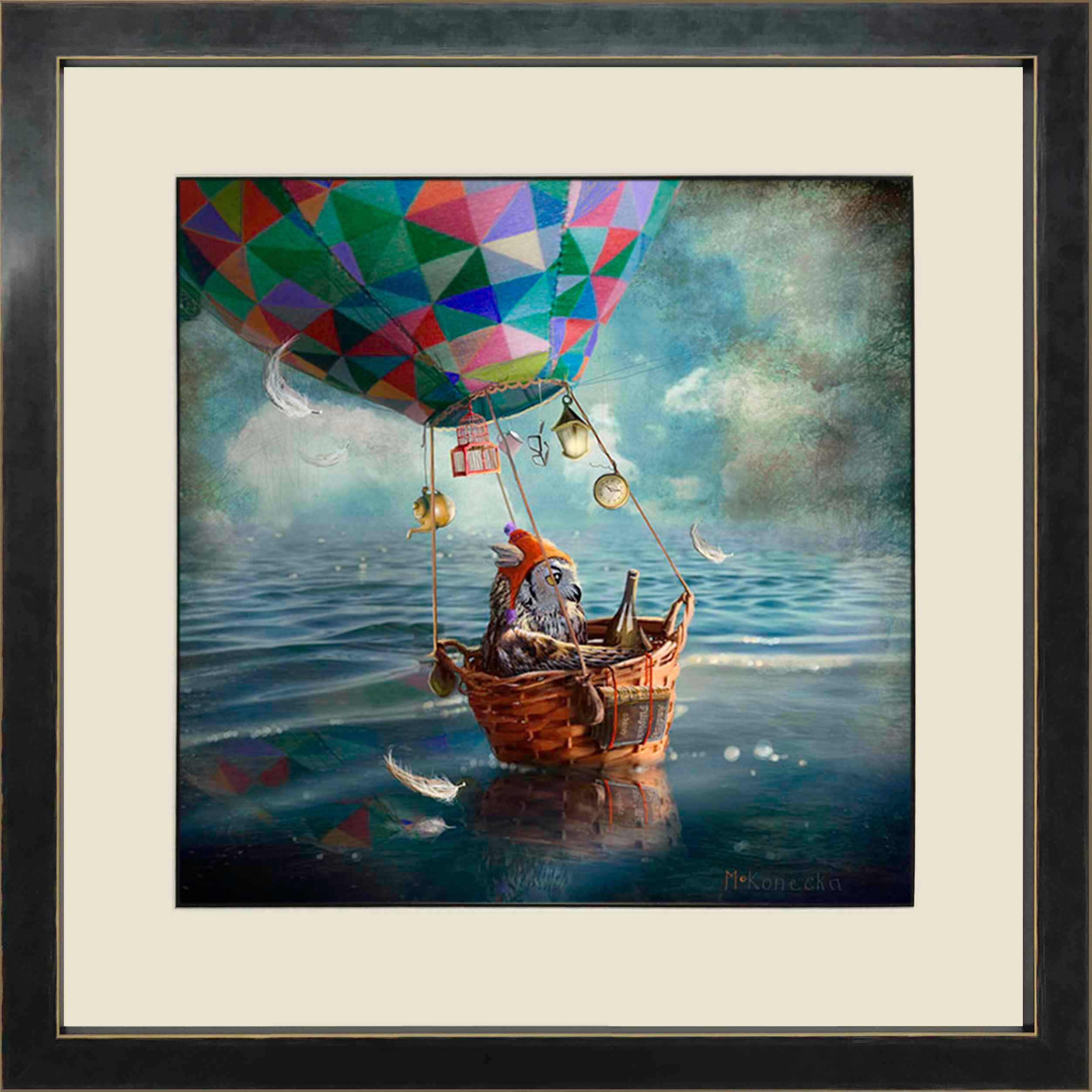 The Balloonist by Matylda Konecha