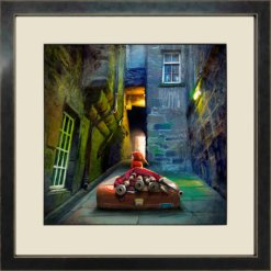 Bagpiper from Trunk's Close by Matylda Konecka