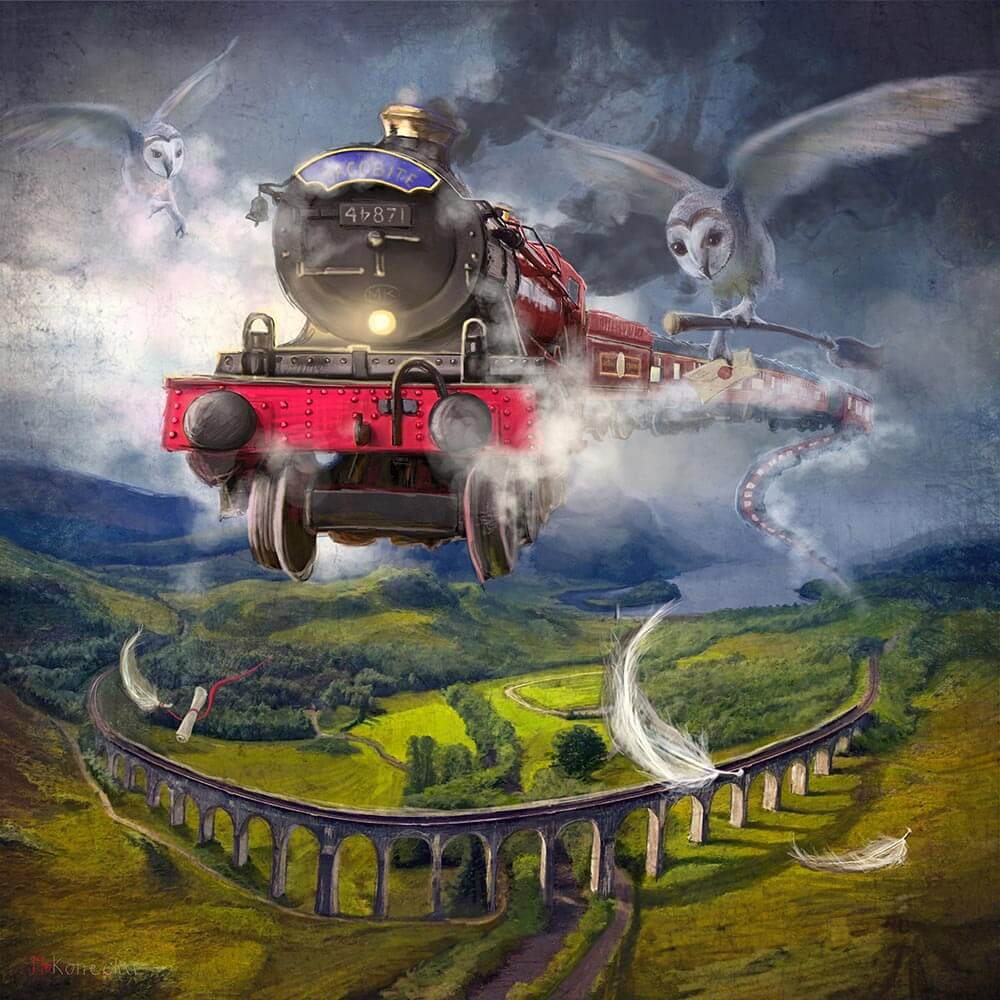 The Glenfiddan Express by Matylda Konecha