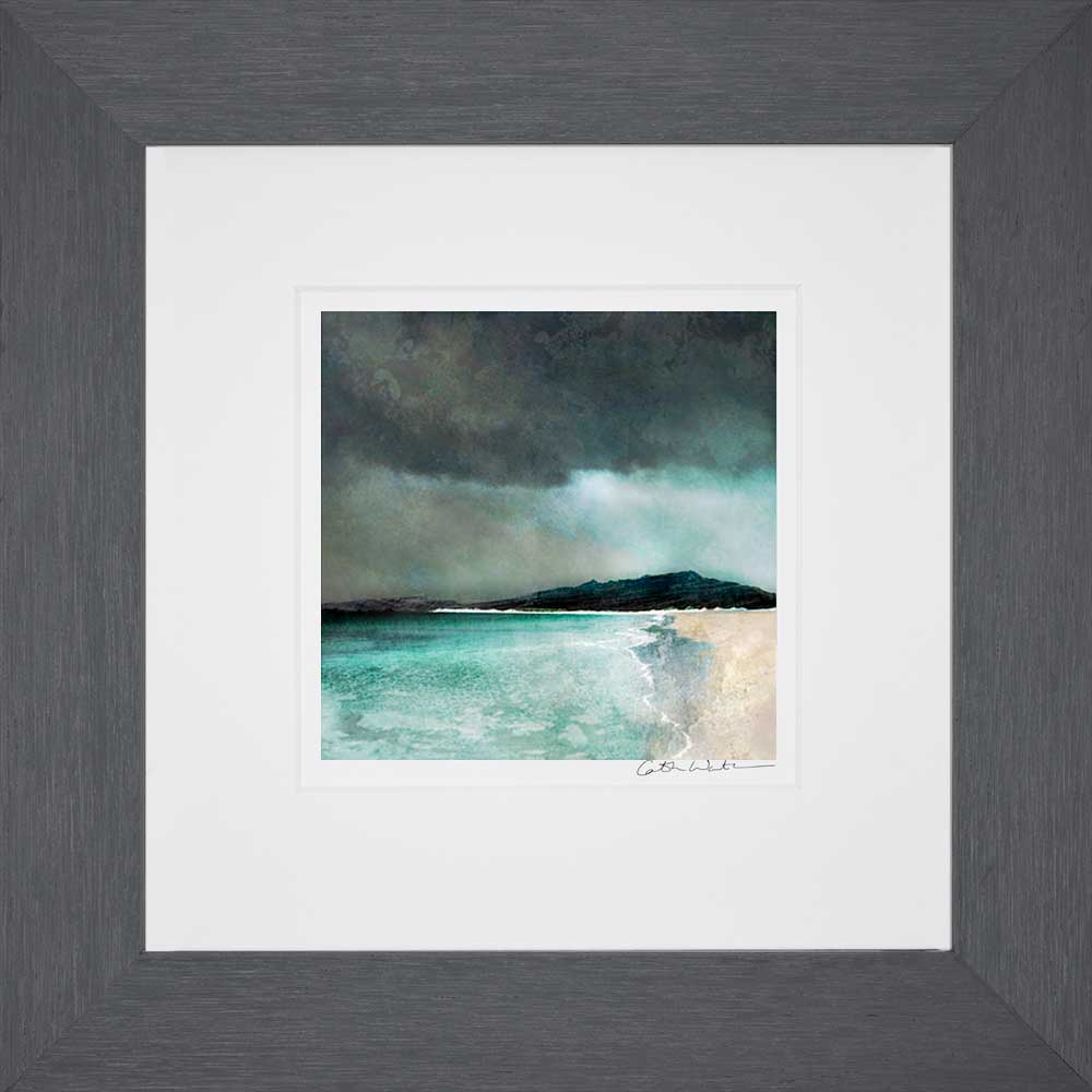 Reef Beach Isle of Lewis_Small print framed