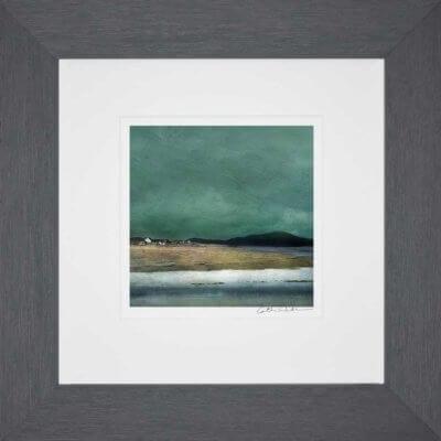 Salt Marshes Isle of Harris_Small print framed