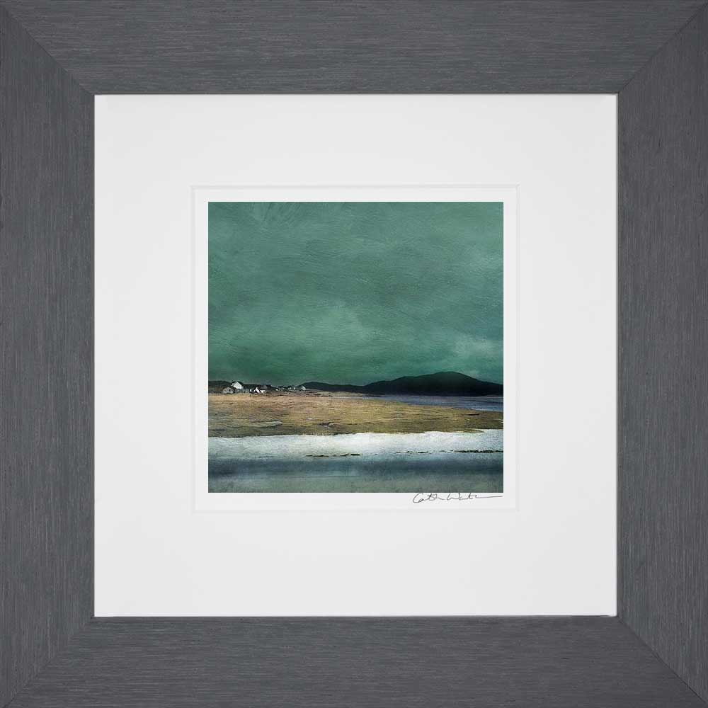 Salt Marshes Isle of Harris_Small print framed