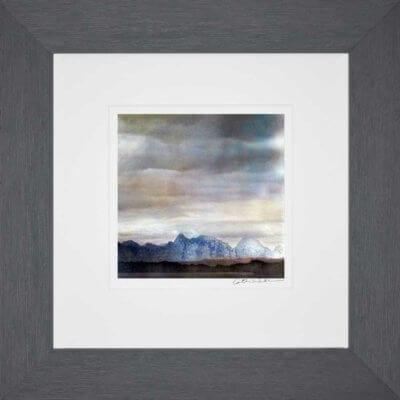 The Cullin Isle Of Skye 2_Small print framed