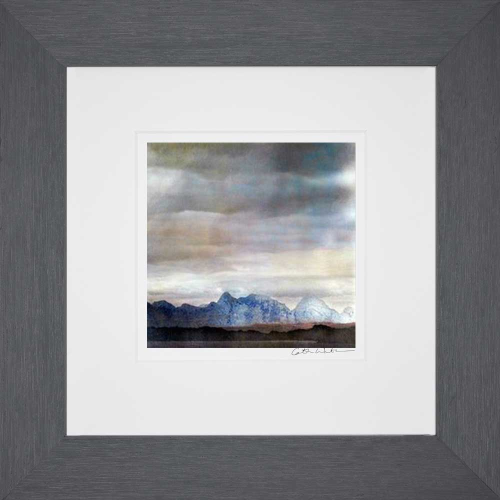 The Cullin Isle Of Skye 2_Small print framed