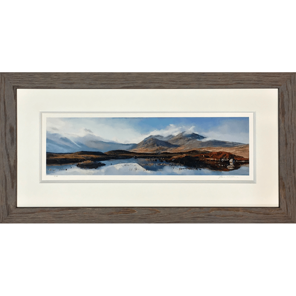 Distance Mountain Rannoch by Fiona Haldane copy