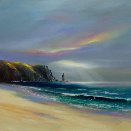 Douglas Roulston Sandwood Bay detail