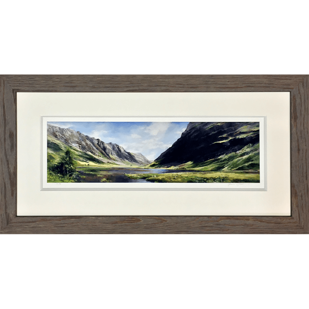 Summer Reflection Pass of Glencoe by Fiona Haldane copy