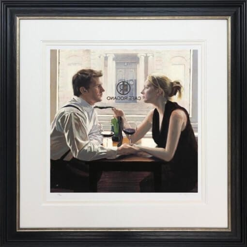 IF6301-Romantic-Lunch Framed Framed