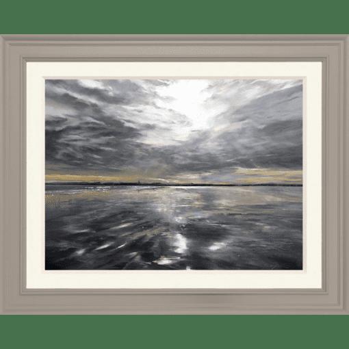 Fiona Haldane_Clouds in the Sand, St Andrews_Pastel_