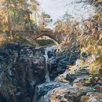 HAL3. The Bridge Linn of Dee_Detail