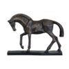 cubist horse head down